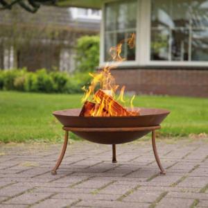 RedFire Vatră de foc Tulsa, ruginiu, oțel