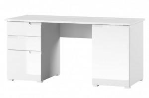 Selene 15 (birou) white high gloss/white