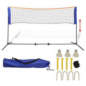 Set fileu de badminton, cu fluturași, 500x155 cm