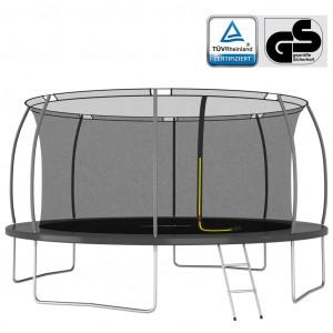 Set trambulină rotundă, 460x80 cm, 150 kg