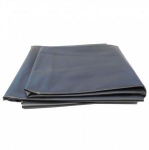 Ubbink Folie PVC pentru amenajarea de lacuri 6 x 4 m, Negru