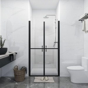 Ușă cabină de duș, transparent, (98-101)x190 cm, ESG