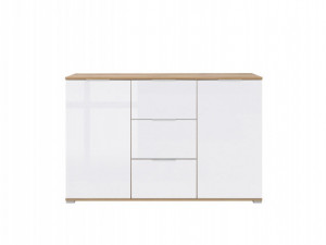 ZLATA 006 COMMODE KOM2D3S OAK tahoe/WHITE