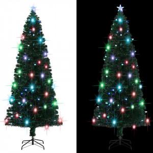 Brad de Crăciun artificial cu suport/LED, 240 cm, 380 ramuri
