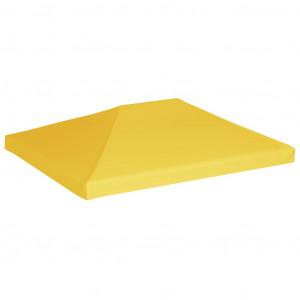Acoperiș de pavilion, 270 g/m², galben, 4 x 3 m