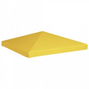 Acoperiș de pavilion, galben, 3 x 3 m, 270 g/m²