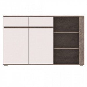 Ares as4 (commode )oak ender./white high gloss