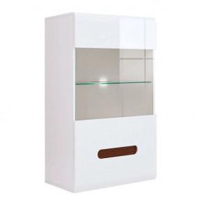 Azteca 005 vitrina sfw1w/10/6 white white high gloss