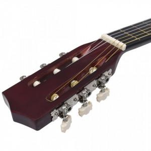 """Chitară clasică pentru începători, 4/4 39"""", lemn de tei"""