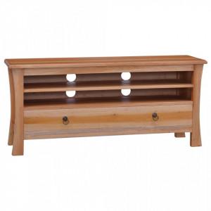 Comodă TV, 100 x 30 x 45, lemn masiv de mahon