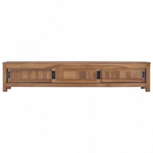 Comodă TV, 150 x 30 x 30 cm, lemn masiv de tec