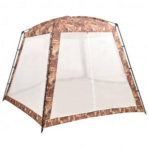 Cort de piscină, camuflaj, 500x433x250 cm, material textil