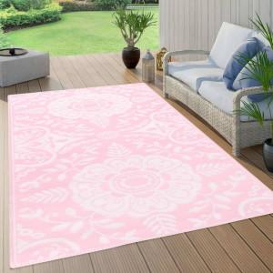 Covor de exterior, roz, 160x230 cm, PP