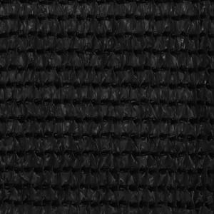 Covor pentru cort, negru, 400x600 cm