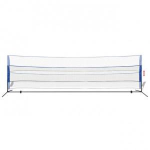 Fileu de badminton cu fluturași, 600 x 155 cm