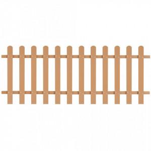 Gard din șipci, 200 x 80 cm, WPC