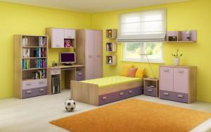 Kitty Set2 S.Bright/Lavender/Violet