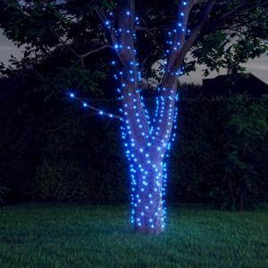 Lumini solare feerice 5 buc 5x200LED albastru interior exterior