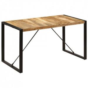 Masă de bucătărie, 140x70x75 cm, lemn masiv de mango