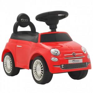 Mașinuță fără pedale Fiat 500 Roșu
