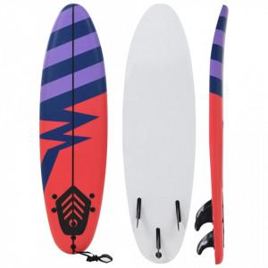 Placă de surf, 170 cm, model dungi