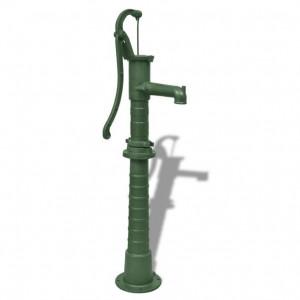 Pompă de apă de grădină cu suport, fontă