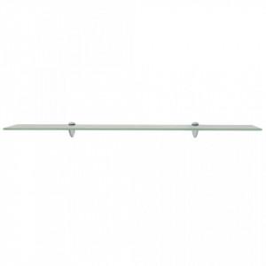 Rafturi suspendate, 2 buc., 100 x 10 cm, sticlă, 8 mm