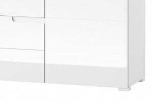 Selene 8 comoda white high gloss/white