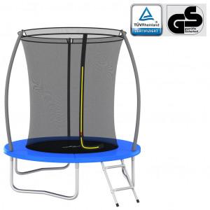 Set trambulină rotundă, 183x52 cm, 80 kg