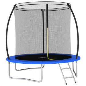 Set trambulină rotundă, 244 x 55 cm, 100 kg