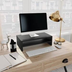 Suport monitor, negru, 42 x 24 x 13 cm, PAL