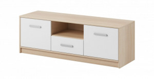 Tulia cabinet tv stand oak sonoma/white&