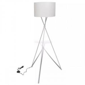 Veioză de iluminat cu suport înalt, alb