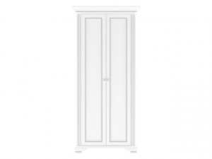 White 012 Dulap 2D Snowy Ash-Tree/Silver Pine