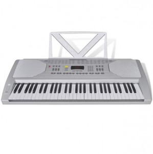 Claviatură electronică 61 clape cu suport note muzicale