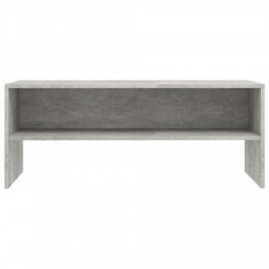 Comodă TV, gri beton, 100 x 40 x 40 cm, PAL