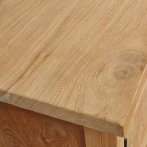 Comodă TV lemn masiv de tec 120 x 30 x 40 cm