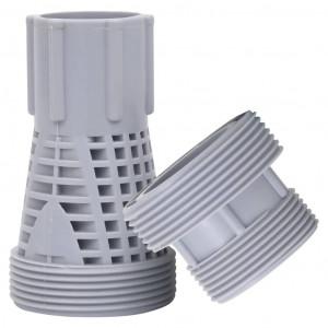 Conectori pentru furtun de piscină, 2 piese, plastic