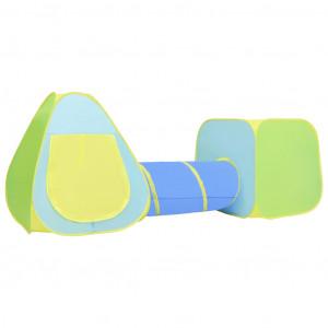Cort de joacă pentru copii cu 100 bile, multicolor
