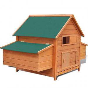 Coteț pentru păsări, 157 x 97 x 110 cm, lemn