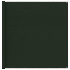 Covor pentru cort, verde închis, 200x400 cm
