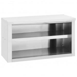 Dulap de perete pentru bucătărie, 90x40x50 cm, oțel inoxidabil