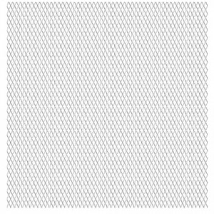 Gard de sârmă grădină, 100x85 cm, 20x10x2 mm, oțel inoxidabil