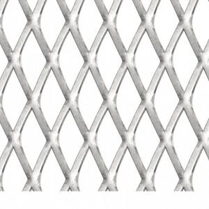 Gard de sârmă grădină, 50x50 cm, 30x17x2,5 mm, oțel inoxidabil