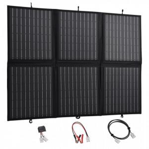 Încărcător panou solar pliabil 120 W 12 V