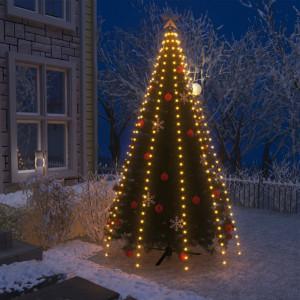 Instalație pom de Crăciun tip plasă cu 300 LED-uri IP44 300 cm