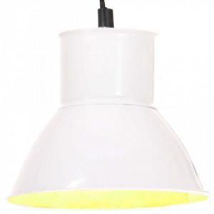 Lampă suspendată, 25 W, alb, rotund, 17 cm E27