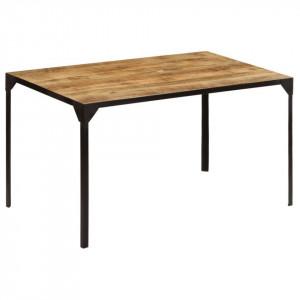 Masă de bucătărie, 140 x 80 x 76 cm, lemn masiv de mango