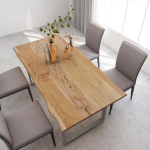 Masă de bucătărie, 180 x 90 x 76 cm, lemn masiv de acacia