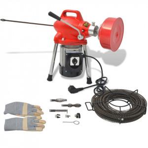 Mașină curățare țevi, 250 W, 12,5 x 16 mm, 4,5 m x 9,5 mm